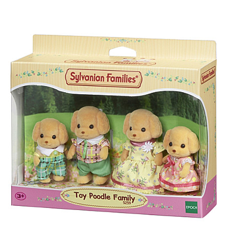 SYLVANIAN FAMILIES Poodle Family