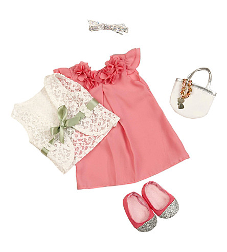 OUR GENERATION Purrrfectly Suited dolls clothes set