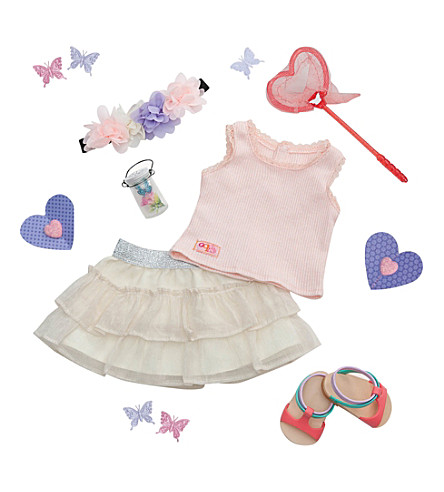OUR GENERATION Butterfly Moment deluxe outfit