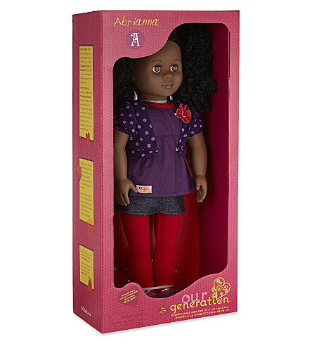 OUR GENERATION Abrianna doll