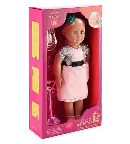 OUR GENERATION Anya doll