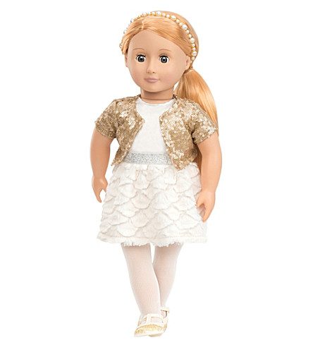 OUR GENERATION Holiday Hope doll
