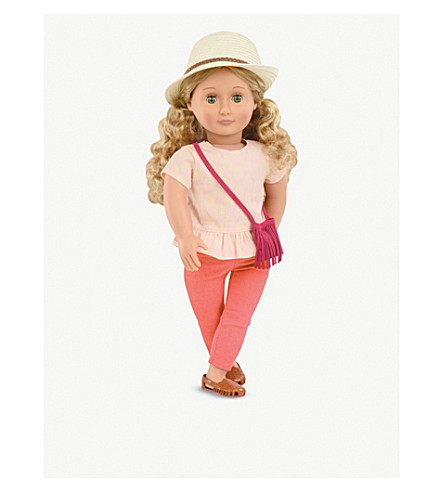OUR GENERATION Brielle doll 45cm