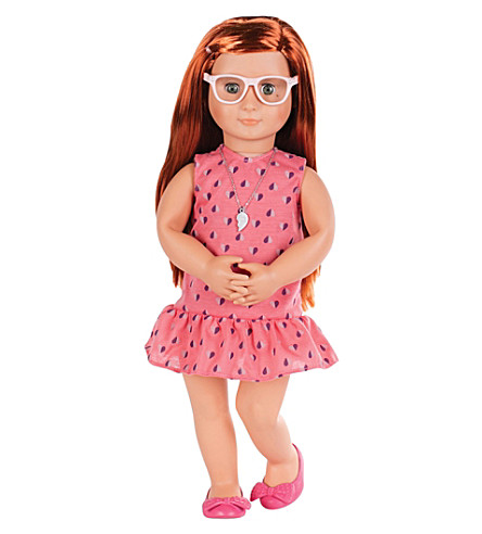 OUR GENERATION Sabina Party Plans go Pop! doll