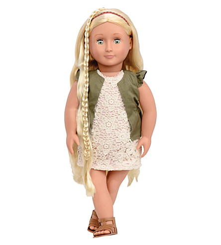 OUR GENERATION Pia hairgrow doll