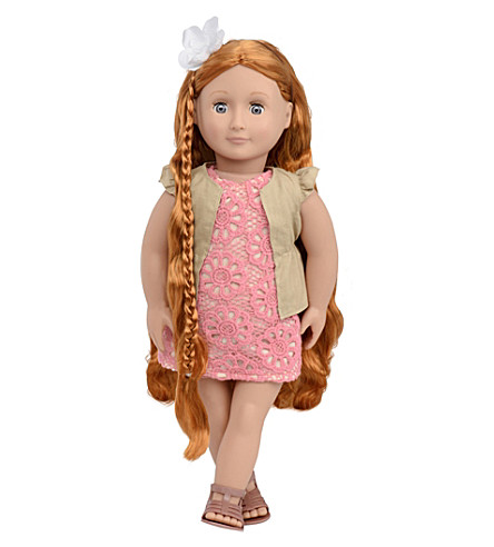 OUR GENERATION Patience hairgrow doll