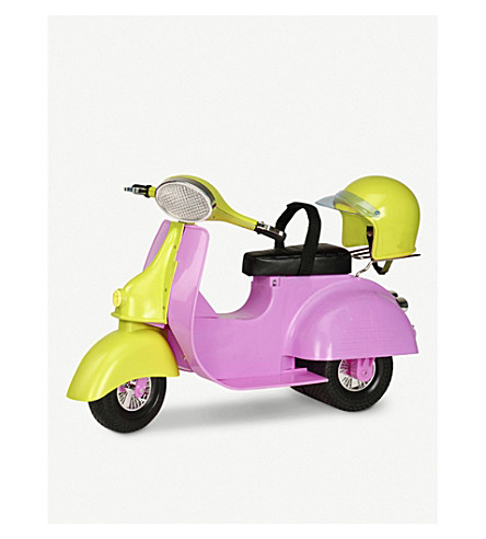 OUR GENERATION Ride in Style scooter toy accessory