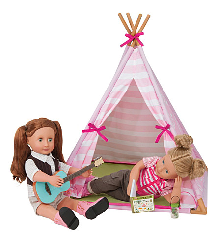 OUR GENERATION Mini Suite Teepee set