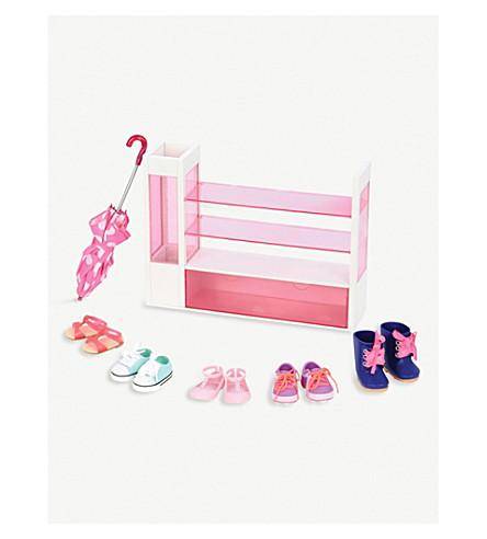OUR GENERATION Sort-a-shoe set