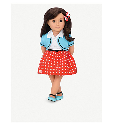 OUR GENERATION Spot of Fun dolls outfit