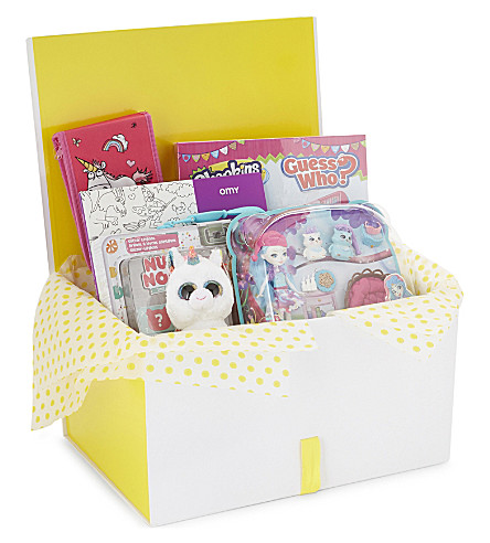 SELFRIDGES Girls toy hamper