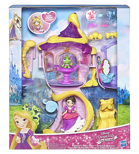 DISNEY PRINCESS Rapunzel's stylin' tower