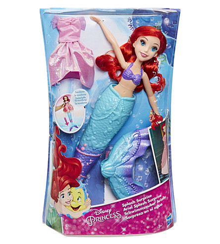 DISNEY PRINCESS Splash Surprise Ariel doll