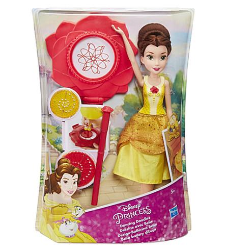 DISNEY PRINCESS Dancing Doodles Belle doll