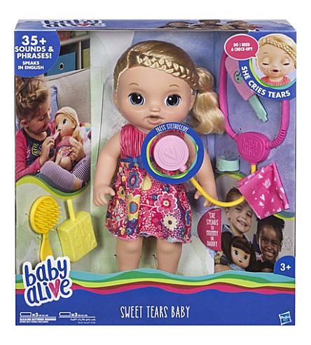 婴孩活甜泪花玩偶