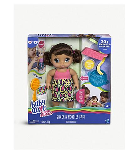 BABY ALIVE Snackin' Noodles doll set