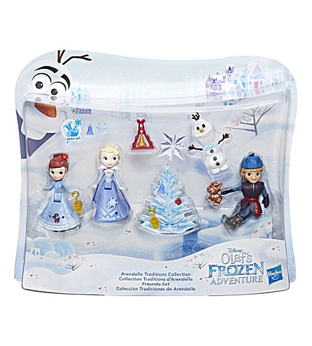 FROZEN Frozen Olafs Adventure small doll collection pack