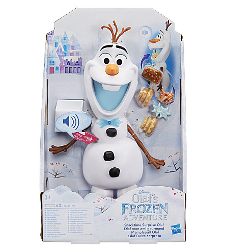 FROZEN Frozen Snacking & Talking Olaf toy