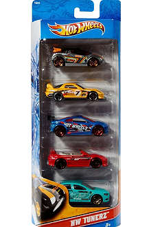 HOTWHEELS Five Pack car set 1:75 scale