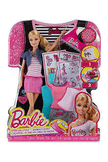 BARBIE Iron-On Style set