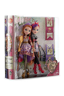 EVER AFTER HIGH Royal and Rebel sisters pack