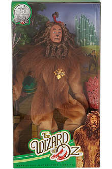 BARBIE Wizard of Oz cowardly lion collectors doll