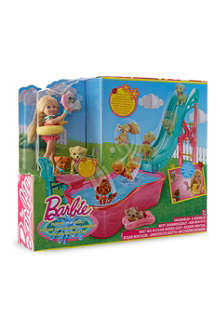 BARBIE Barbie flippin' pup pool