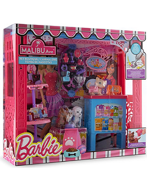 BARBIE Malibu Ave pet boutique