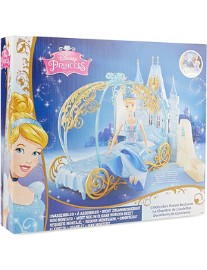 DISNEY PRINCESS Cinderella bedroom playset