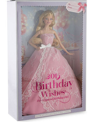 BARBIE Birthday Wishes 2015 pink label collection doll