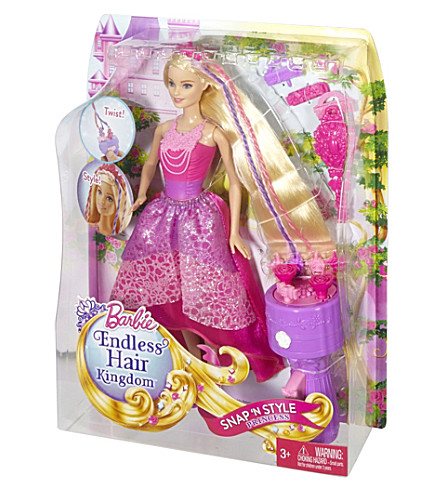 BARBIE Snap n' style doll