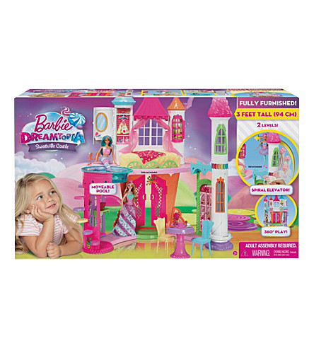 BARBIE Dreamtopia Sweetsville castle play set