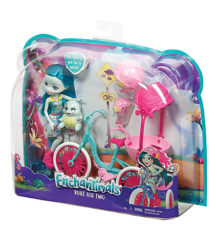 ENCHANTIMALS Doll and tricycle set