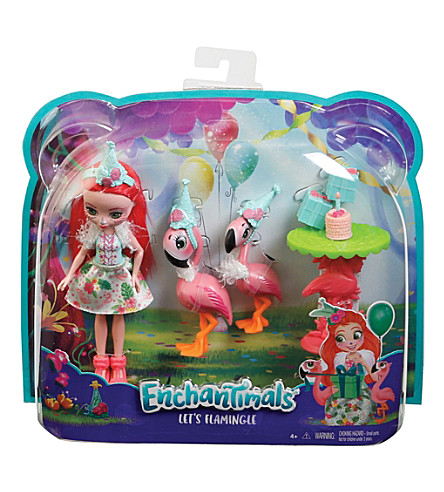 ENCHANTIMALS Let's Flamingle doll playset