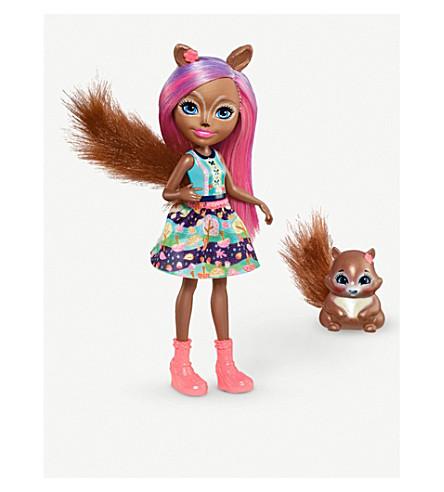 ENCHANTIMALS Sancha Squirrel doll play set