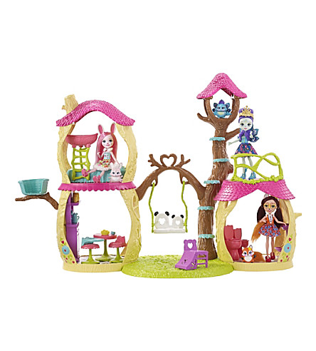 ENCHANTIMALS Playhouse Panda doll playset
