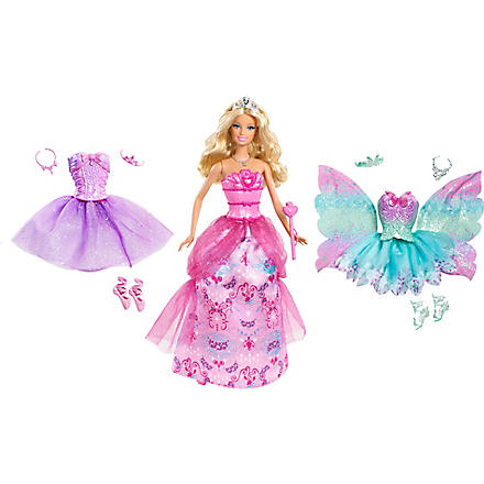BARBIE Princess Royal dress-up