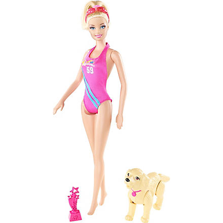 BARBIE I can be Team Barbie swimmer