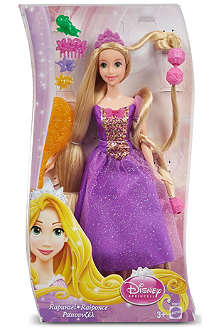 DISNEY PRINCESS Fairytale hair Rapunzel playset