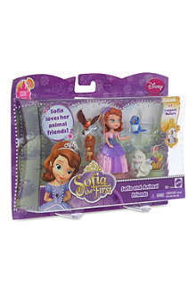 DISNEY PRINCESS Sofia and animal friends set