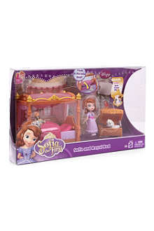 DISNEY PRINCESS Sofia and Royal Bed playset