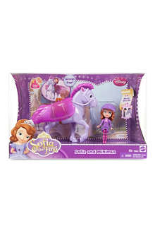 DISNEY PRINCESS Sofia and Mimimus set