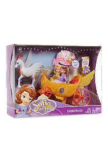 DISNEY PRINCESS Winged carriage set