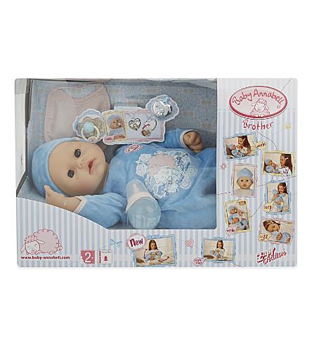 BABY ANNABELL Baby Annabell®兄弟乔治玩偶