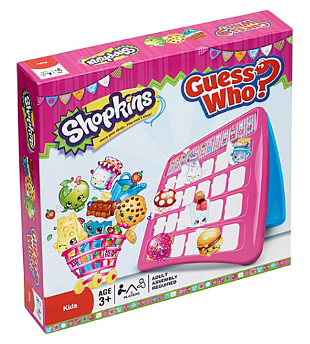SHOPKINS Shopkins Guess Who Game