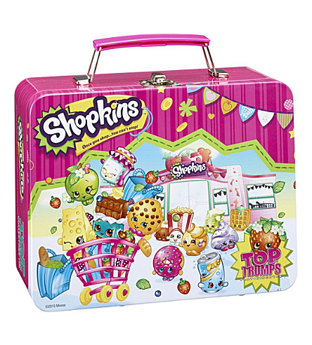 SHOPKINS Shopkins Top Trumps Collectors tin