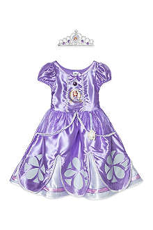 DISNEY PRINCESS Deluxe Sofia dress 7-8 years