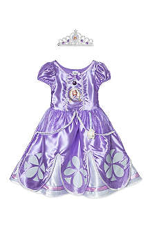 DISNEY PRINCESS Deluxe sofia dress 3-4 years