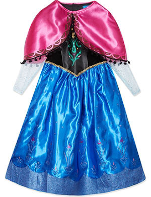 FROZEN Disney Deluxe Anna dress 7-8 years
