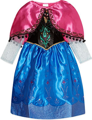 FROZEN Disney Princess Anna dress 3-4 years